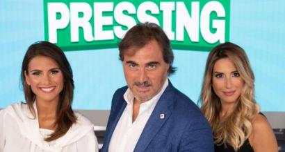 Pressing su Canale 5, domenica 2 dicembre ospiti Vieri e Galli