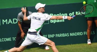 Tennis, Coppa Davis: Seppi batte Gunneswaran, Italia alla fase finale