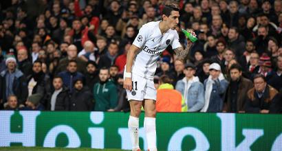 Manchester United-Psg: tifosi inglesi infuriati con Orsato, Di Maria brinda alla vittoria
