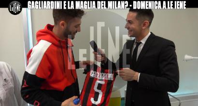 Gagliardini con la maglia del Milan, scherzo de Le Iene