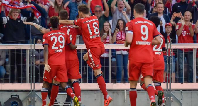 Bundesliga: Sule sospinge il Bayern, il Werder in 10 cade 1-0