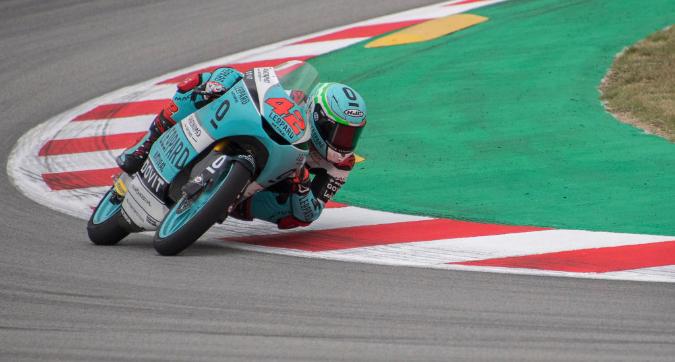 Moto3, in Catalgona vince Ramirez