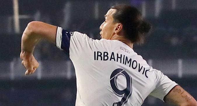 Los Angeles Galaxy, errore sulla maglia di Ibra: diventa Irbahimovic