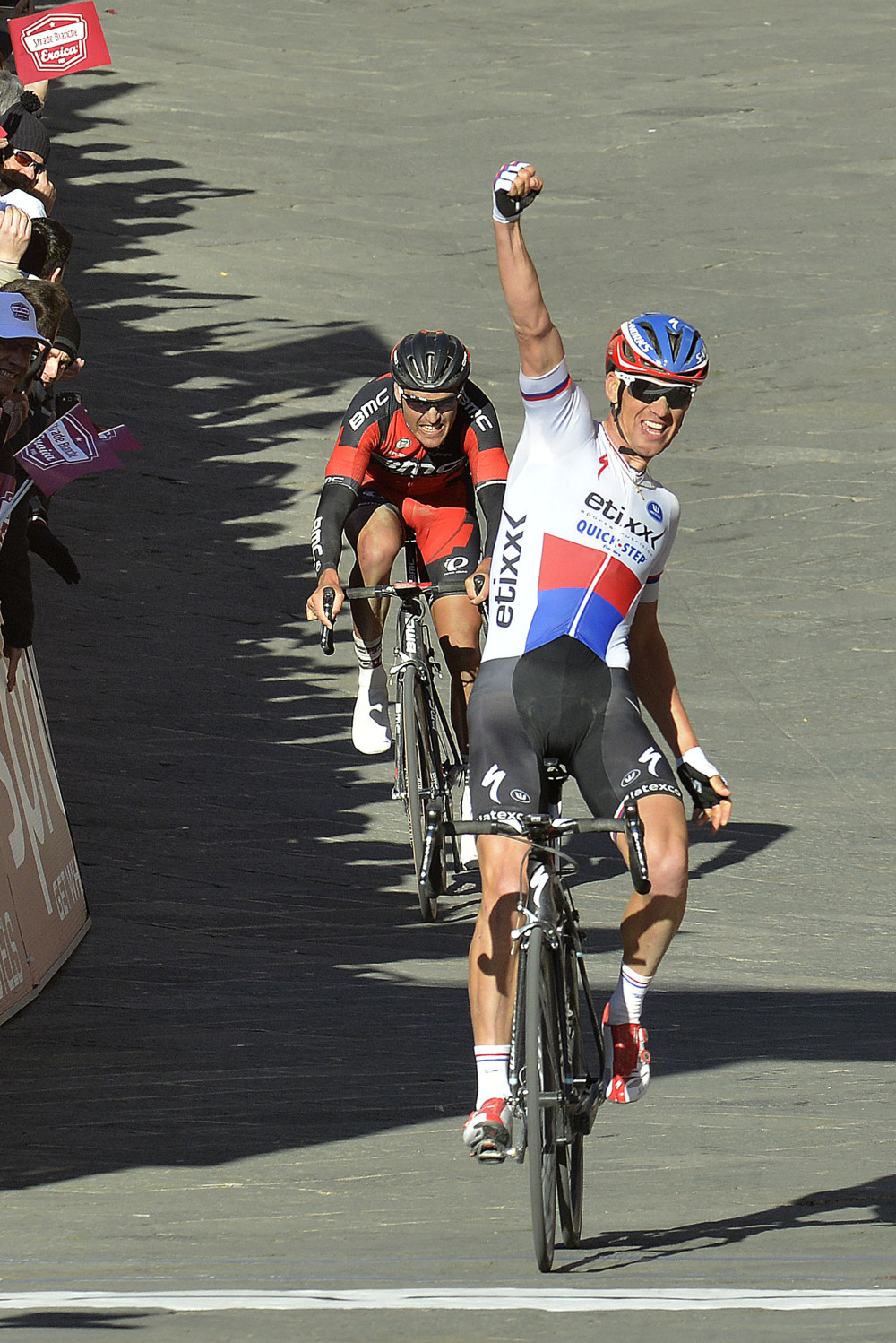 Strade Bianche, trionfa Stybar: le foto
