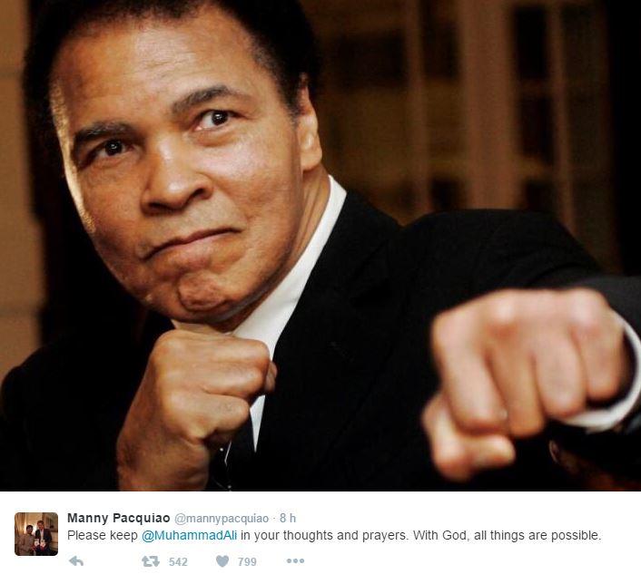 Il mondo dello sport piange Muhammad Ali