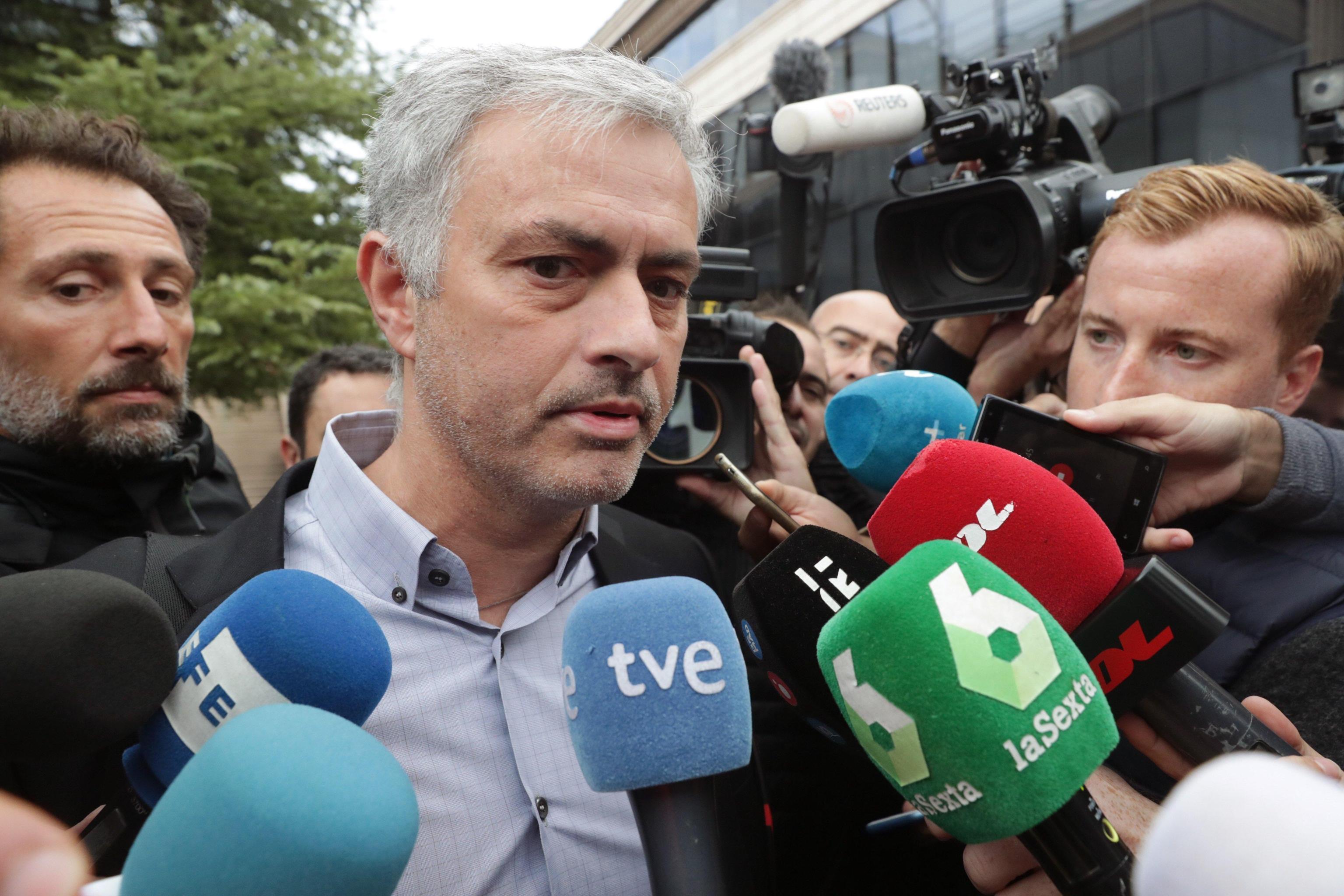 Madrid, Mourinho in Tribunale per i guai col Fisco