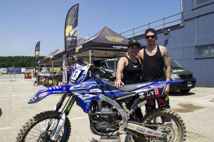 Motocross, a Ottobiano test con Reed e Fontanesi