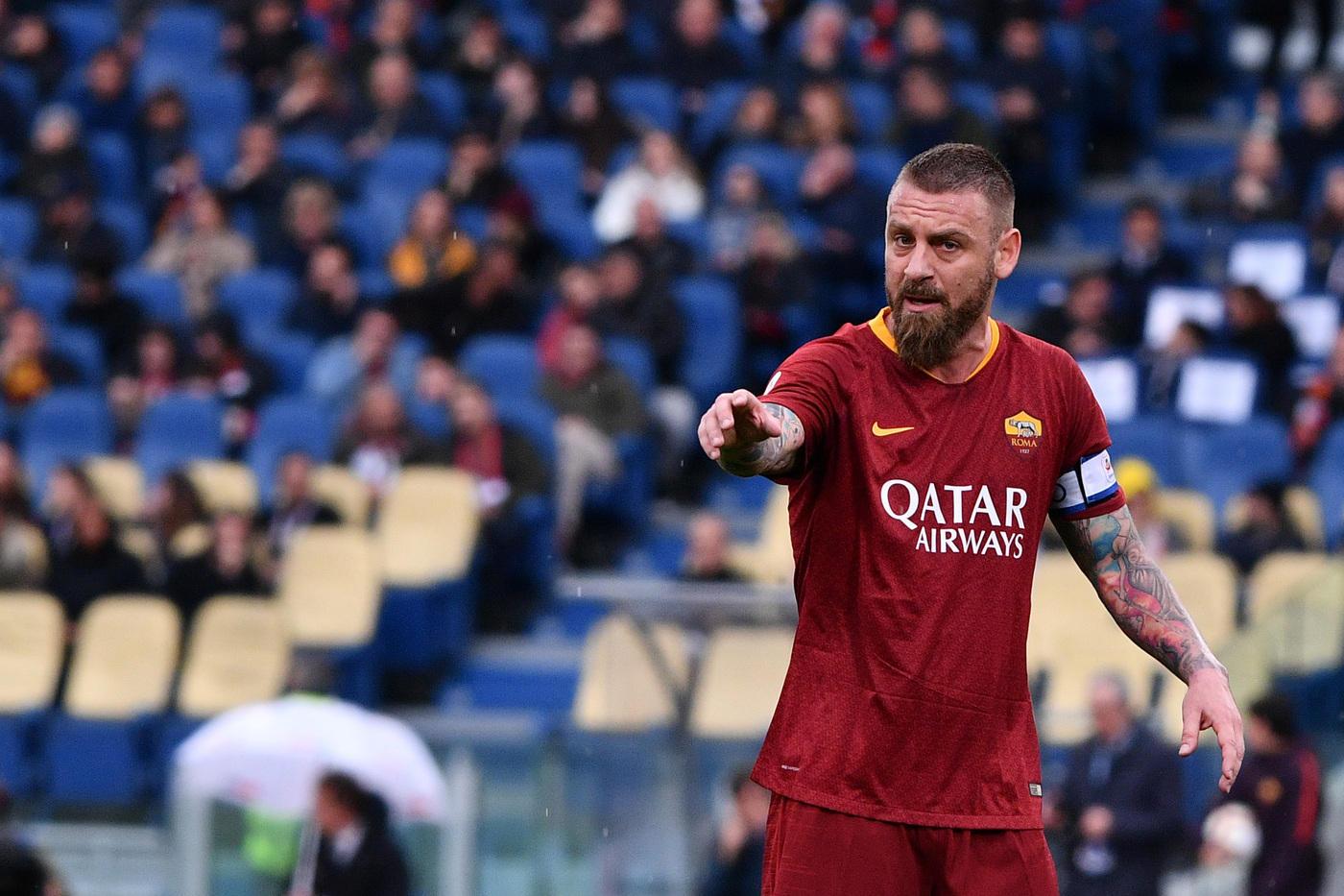 Mercato: De Rossi e gli altri, la top 10 dei giocatori in scadenza a giugno