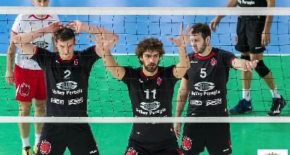 Volley, Champions: Perugia vola, è cinquina