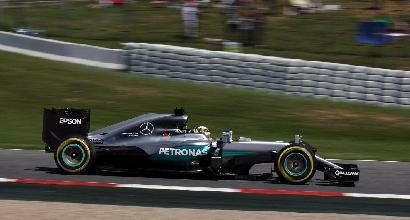 F1: super pole per Hamilton, disastro Ferrari