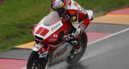 Moto3, Sachsenring: Pawi vince ancora sul bagnato