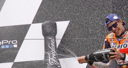 Marquez non era il più veloce. E Rossi...