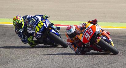 "MotoGP, Rossi: ""Roviniamo la festa a Marquez"""