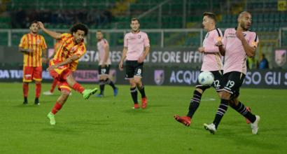 Serie B: Palermo e Benevento non si fanno male