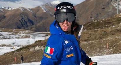 Finalmente Goggia: rieccola sugli sci, ma serve cautela