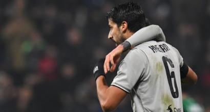 Juve, niente Atletico per Khedira: aritmia atriale, resta a Torino per accertamenti