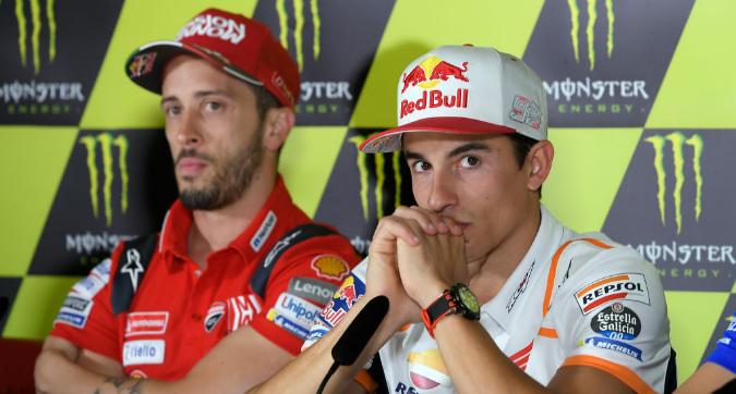 MotoGP Barcellona: Marquez teme le Ducati, Dovizioso lo avverte