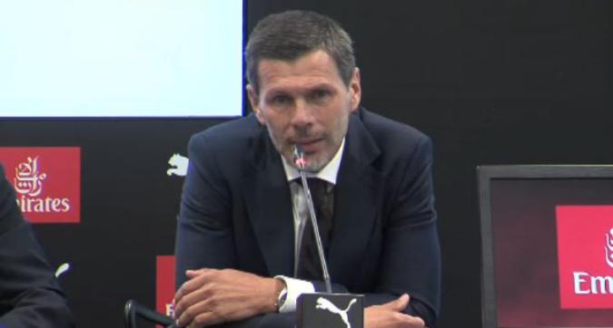 """Milan, Boban: """"Il gioco di Giampaolo rispecchia la storia del club"""". Maldini: """"I tifosi hanno capito il momento"""""""