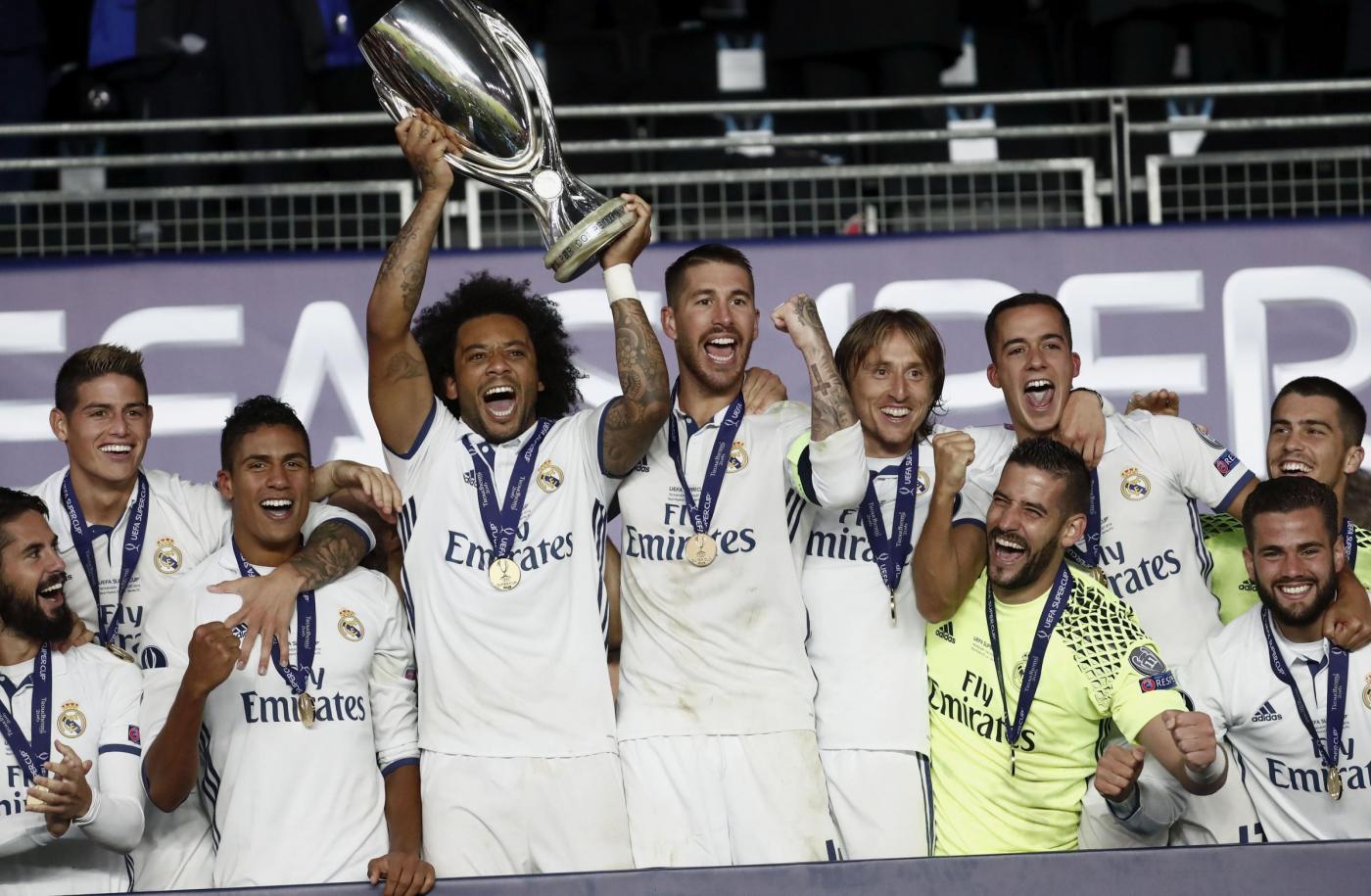 Supercoppa Europea: cuore Real, il Siviglia si inchina