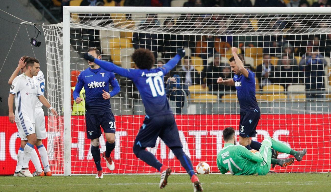 Europa League: Dinamo Kiev-Lazio 0-2, le foto del match