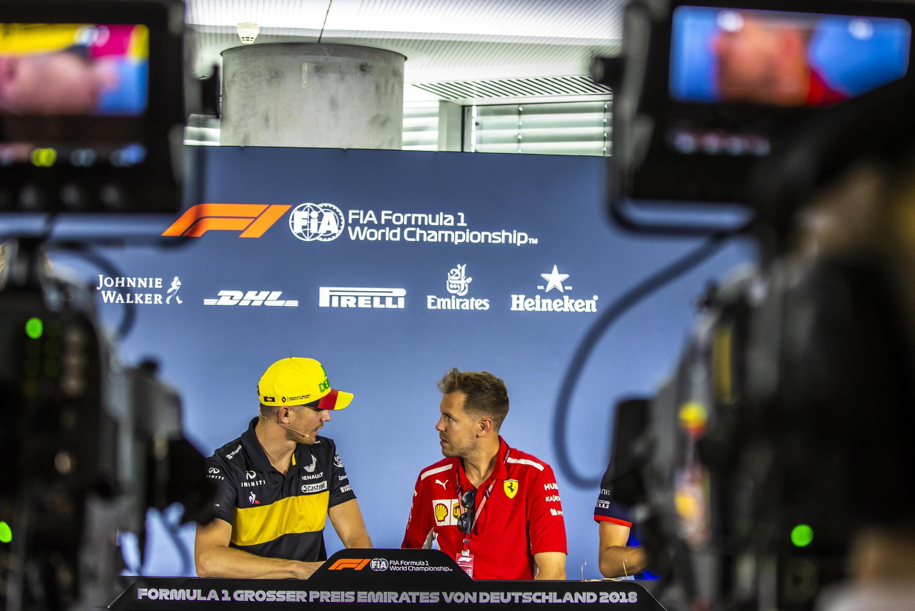 F1, Vettel pronto al GP di casa