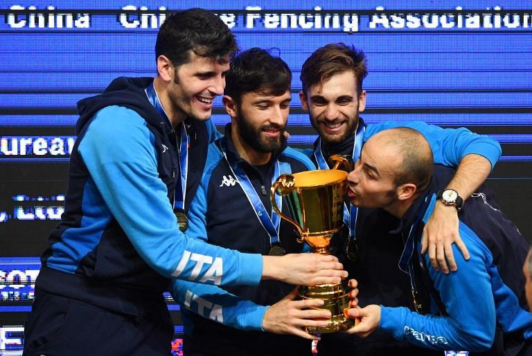Gli azzurri conquistano il terzo Mondiale consecutivo