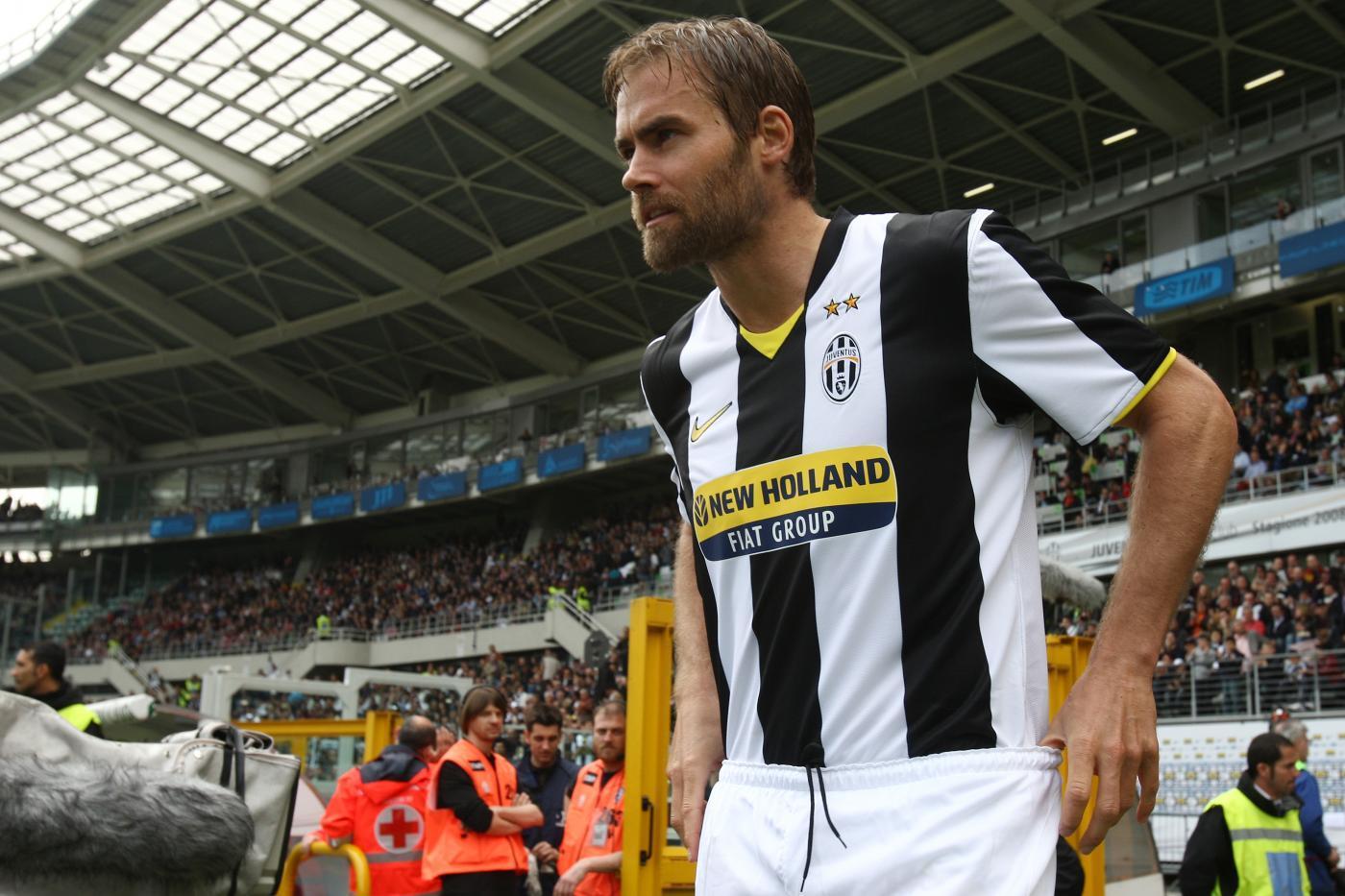 Olof Mellberg, arrivato alla Juve nel 2008 e ceduto all'Olympiacos nel 2009 in cambio di 2,5 milioni di euro.