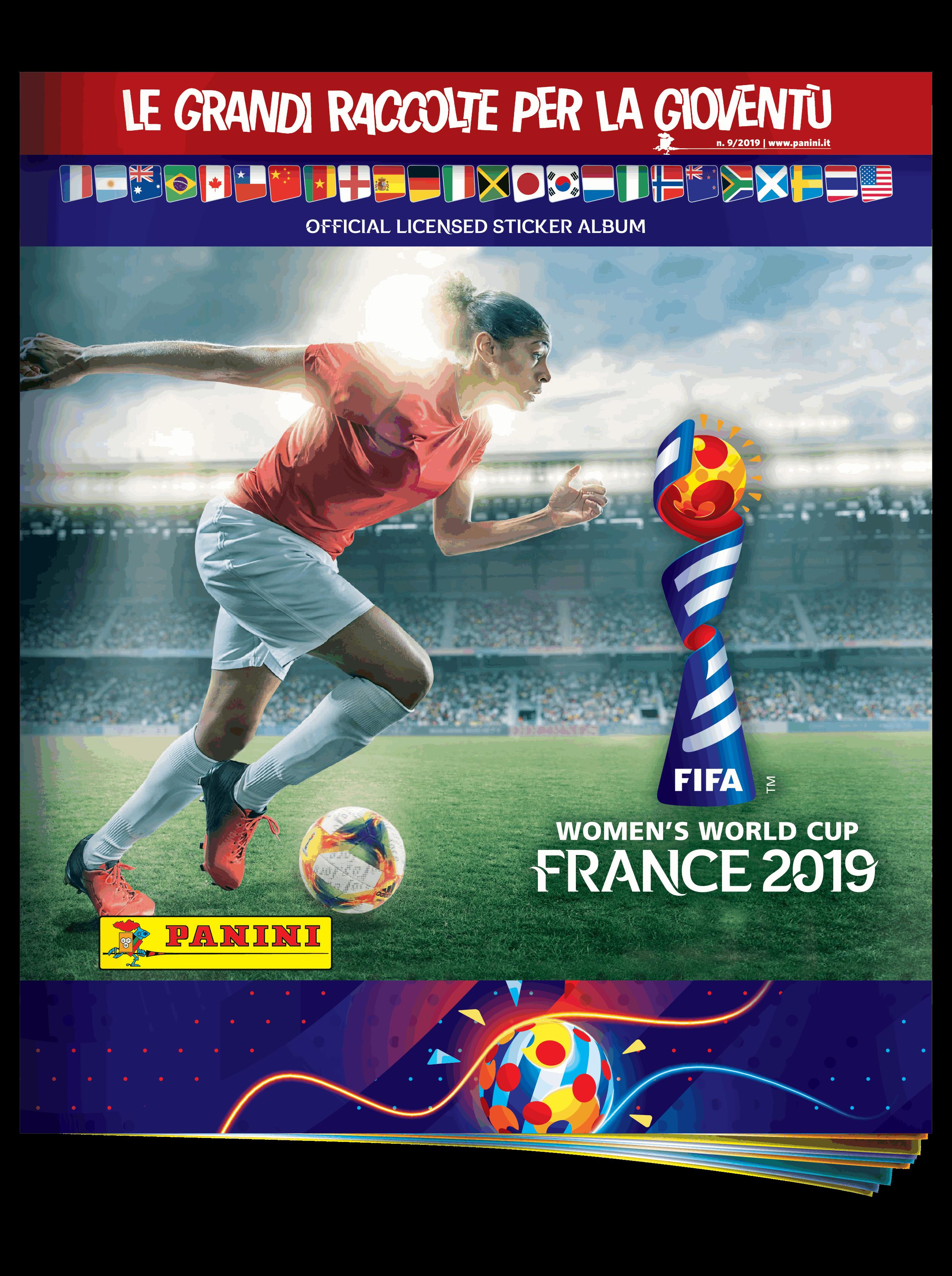 Le figurine per i Mondiali donne di calcio
