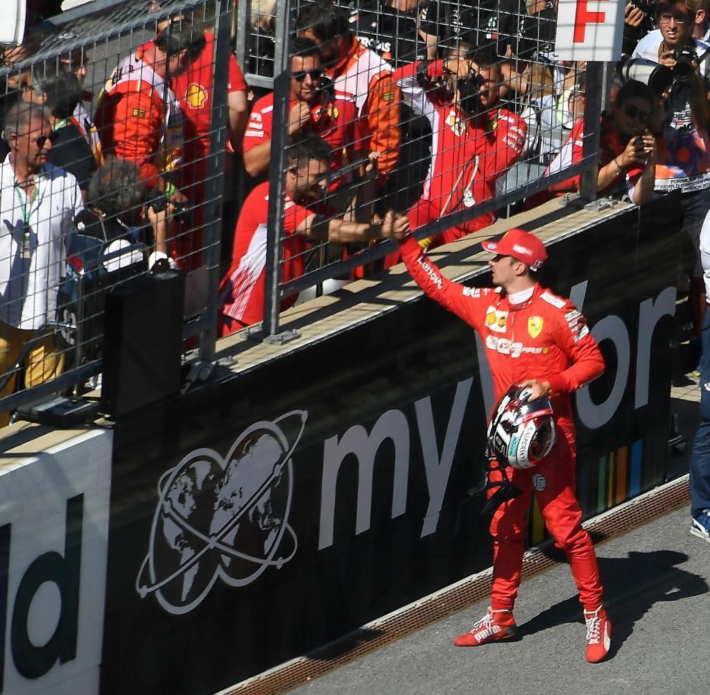 Leclerc ha regalato la pole position del GP d'Austria di F1 alla Ferrari.