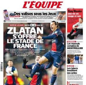 Ibrahimovic, altro gol da urlo