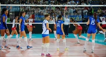 Volley, Mondiali donne: Italia, sconfitta indolore