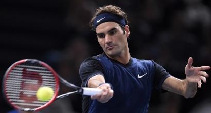 Atp Parigi Bercy: Federer troppo forte, Seppi travolto