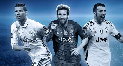 Champions, la squadra dell'anno: ci sono 3 juventini