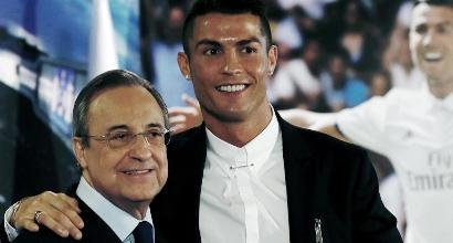 Real Madrid, Perez blinda Ronaldo: