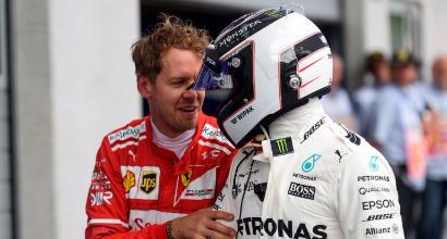 Vettel-Bottas, AFP