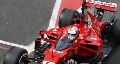 """F1, Vettel: """"Mercedes veloce, noi dobbiamo migliorare"""""""