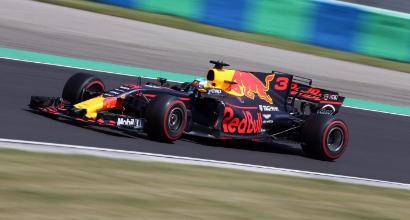 Formula 1 Gp d'Ungheria 2017, Ricciardo il più veloce nelle prime libere