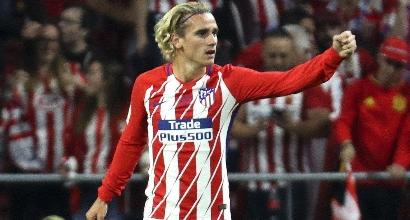 Liga: Griezmann battezza il Wanda Metropolitano, 1-0 al Malaga