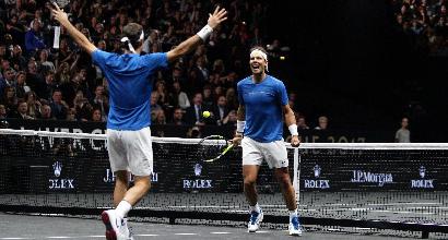 Tennis, Laver Cup: Federer e Nadal per la prima volta in doppio insieme