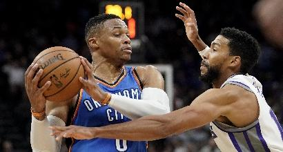 NBA: Oklahoma rimonta Utah, bene Toronto su Phoenix. Bradley Beal trascina Washington