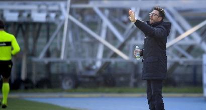 "Roma, Di Francesco: ""Serve più cattiveria"""