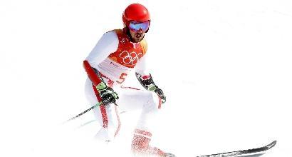 PyeongChang, gigante: Hirscher cannibale, è oro