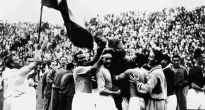 1934: arriva l'azzurro-Italia, è subito leggenda