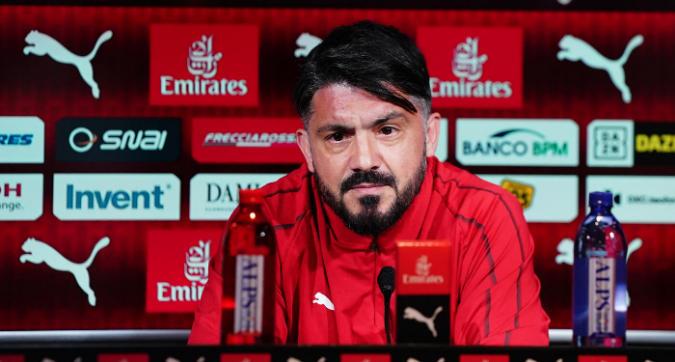 """Gattuso: """"Nessun problema con Leo"""""""
