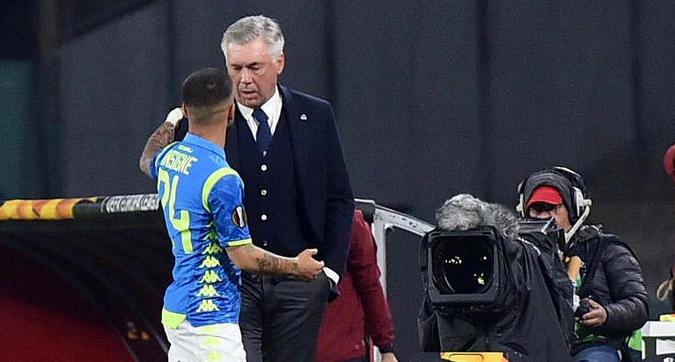 Ancelotti battezza il Napoli che verrà