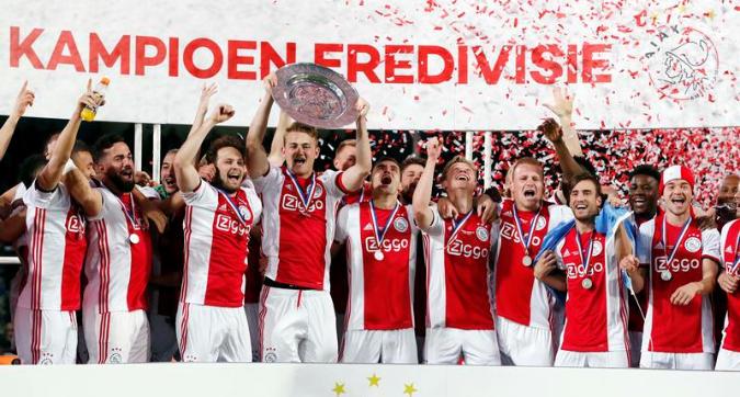 Olanda, l'Ajax è campione