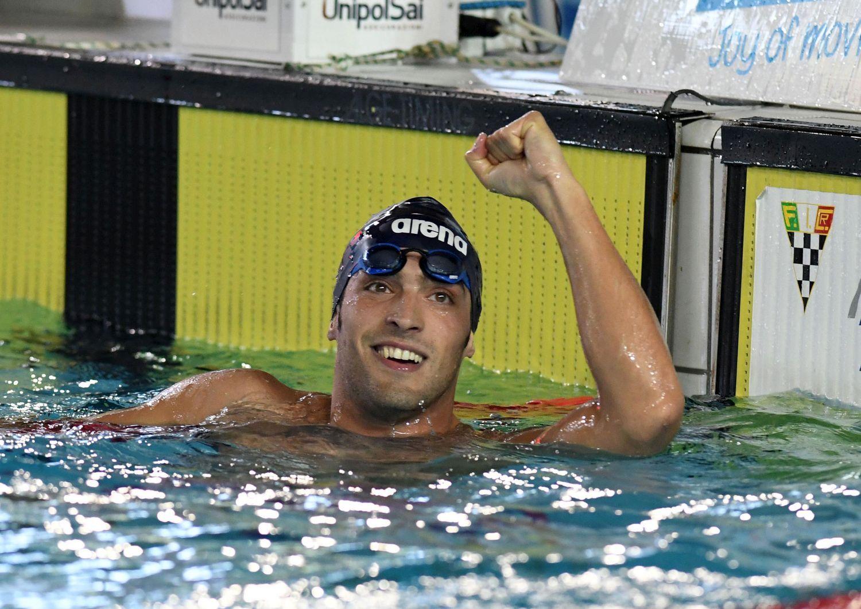 Detti, record italiano nei 400 sl