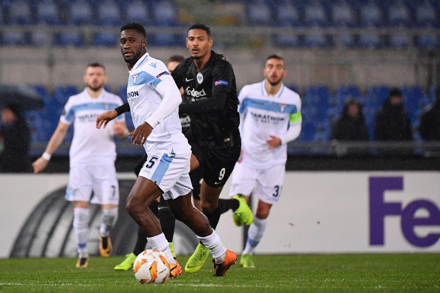Lazio-Eintracht 1-2, le foto del match
