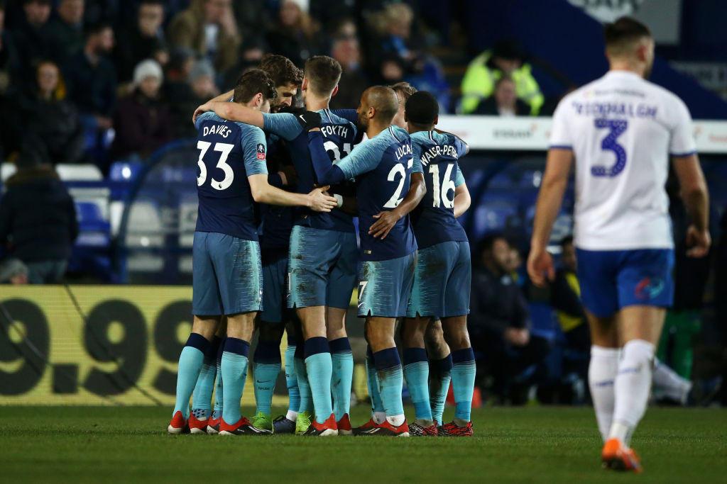 FA Cup, Tranmere Rovers-Tottenham 0-7: tripletta di Llorente