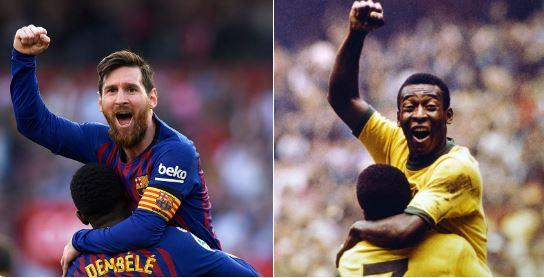 Barcellona, Messi come Pelè: almeno nell'esultanza